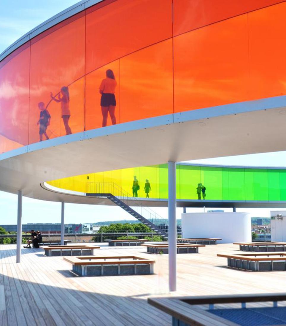 ARoS Aarhus Kunstmuseum, Your rainbow panorama