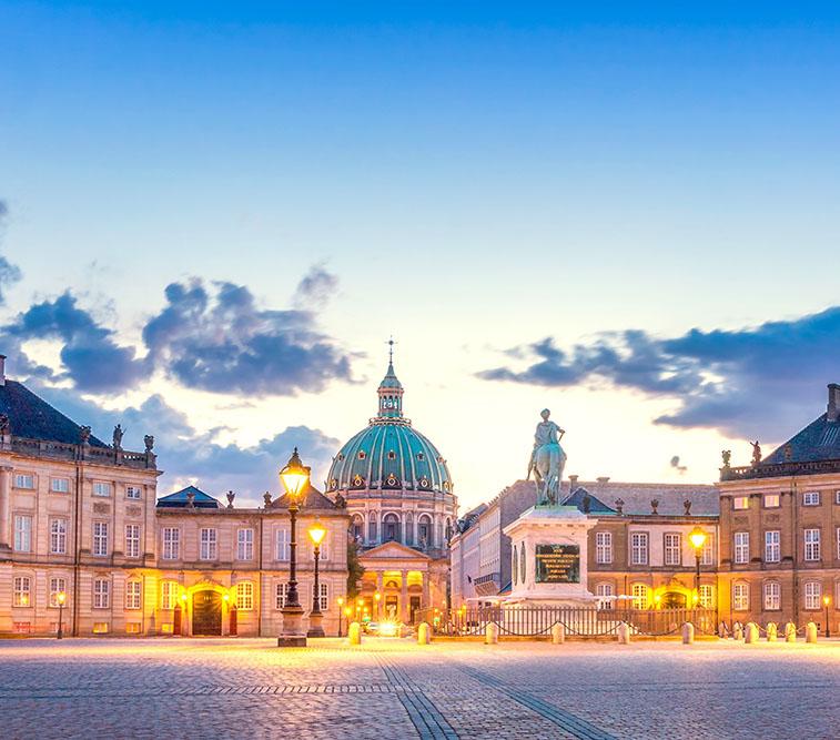 Amalienborg,,Copenhagen