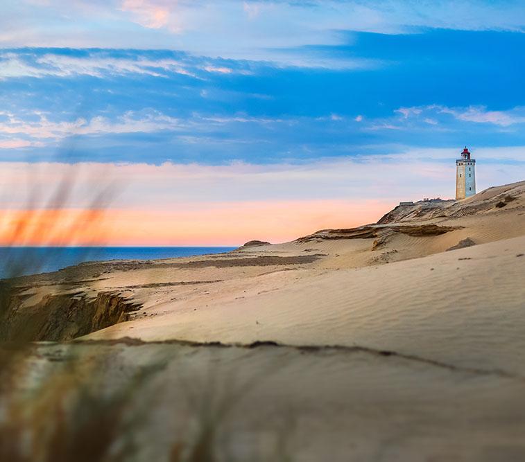 The,Lighthouse,Rubjerg,Knude,In,Denmark