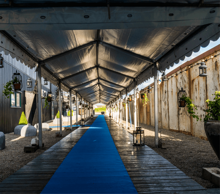 Glamping Style Party at DOCKEN