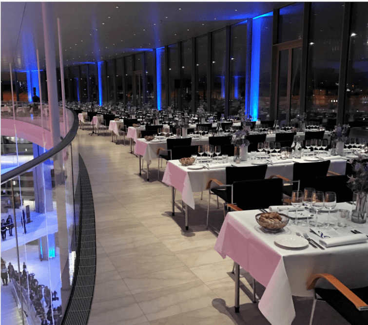 Stylish Gala Dinner Event at iconic Royal Opera House in Copenhagen