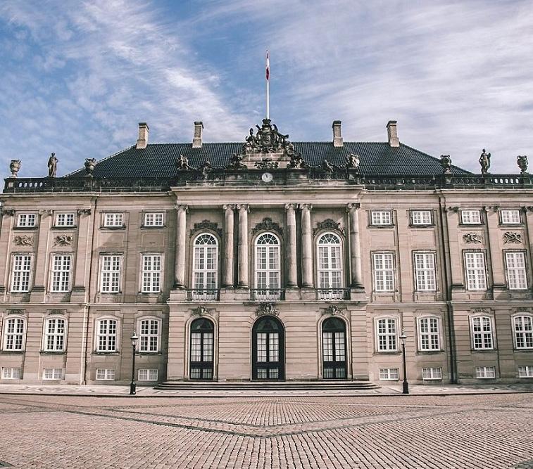 Picture 2 - Amalienborg Palace - Credits Thomas Høyrup Christensen