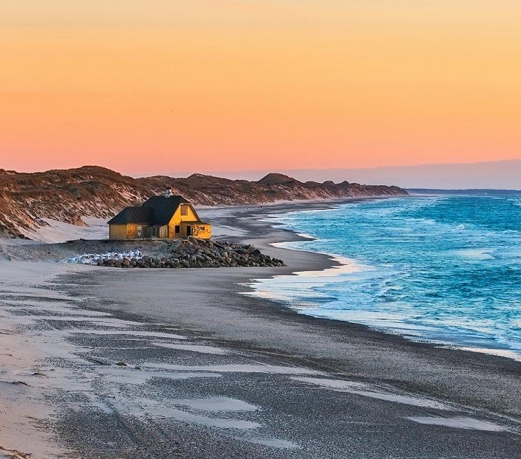 A,House,At,The,Beach,Near,Gammel,Skagen