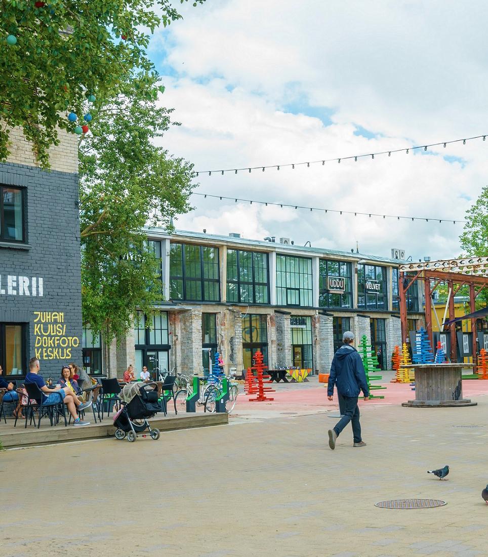 Tallinn,/,Estonia,-,July,2020:,Telliskivi,Linnak,Creative,City