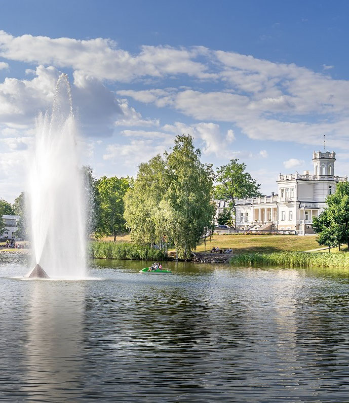 Druskininkai,,Lithuania,-,August,14,,2020:,View,Of,The,Druskininkai