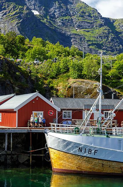 Nusfjord Arctic Resort- Copyright Hallvard Kolltveit Destination Lofoten